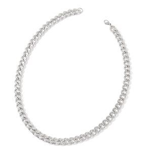 Stainless Steel Curb Necklace (24 in)
